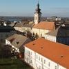 Panoramic View Over Centre Of Sremska Mitrovica