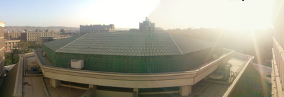 Panoramic Photo Of The University Managerial Building