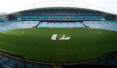 Panorama Of Stadium Australia