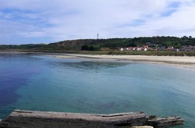 Panorama  Braye  Beach
