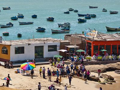 Paracas Beach View
