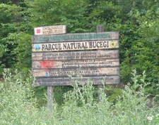 Parcul Natural Bucegi - Signpost