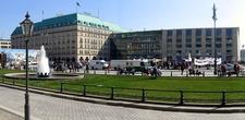 Pariser Platz With The New Adlon Hotel