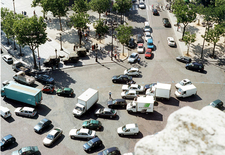 Place Charles De Gaulle Seen From The Top