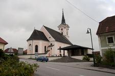 Parish Church Of Aistersheim, Upper Austria, Austria