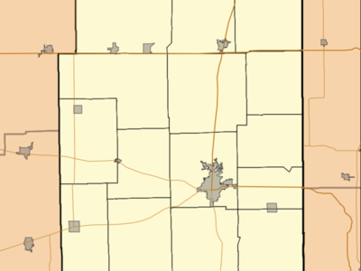 Paris Is Located In Edgar County Illinois