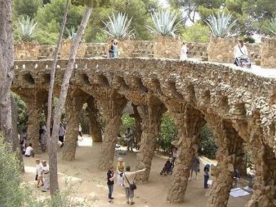 Park Guell Bruecke - Barcelona