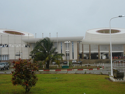 Parliament Building Of Benin In Porto-Novo