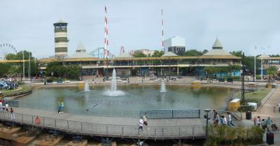 Partial View Of The Parque De La Costa
