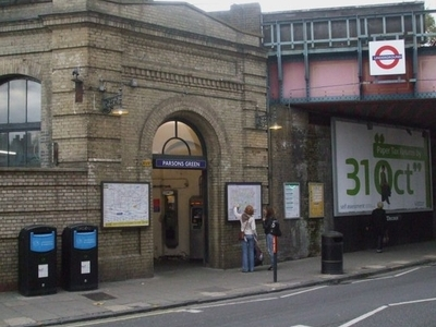 Parsons Green Tube Station Entrance
