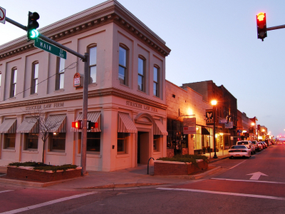 Part Of Main Street Jonesboro