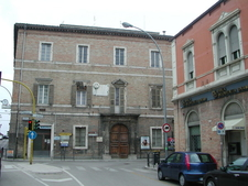 Part Of The Old Town In San Benedetto Del Tronto