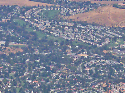 Parts Of Clayton As Seen From Mt. Diablo In Summer 2005