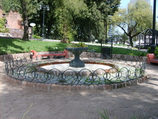 Patio Circular Fountain