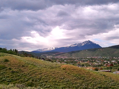 Peak 1 Seen From Silverthorne