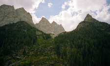 Peaks Along Paintbrush & Cascade Loop Trail - Grand Tetons - Wyoming - USA