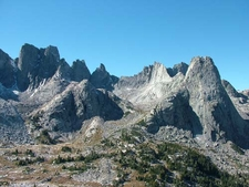 Peaks In The Cirque Of Towers