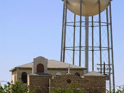 Pecos Texas Watertower