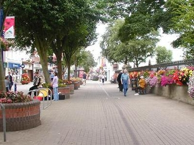 Pedestrian Area At  Coleraine