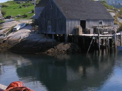 Peggys  Cove  Harbour
