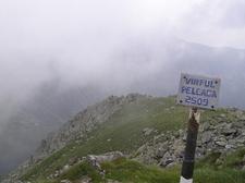 Elevation Sign At Peleaga Summit