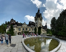 Peles Castle - Sinaia - Reflecting In Pond