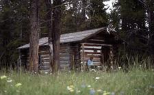 Pelican Creek Patrol Cabin - Yellowstone - USA