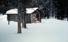 Pelican Springs Patrol Cabin - Yellowstone - USA