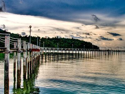 Penang National Park In HDR