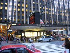 The Seventh Avenue Entrance To MSG