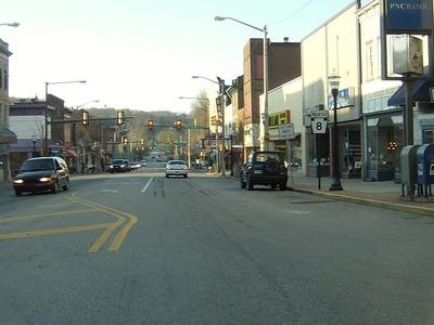 Pennsylvania Route 8 In Butler