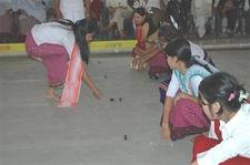 People Playing Kang
