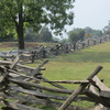 Period Fence At Manassas Battlefield