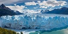 Perito Moreno Glacier Calving Into Lake - Argentina