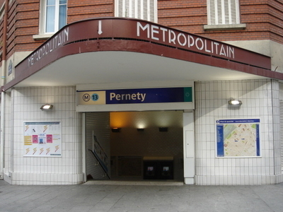 Entrance To The Pernety