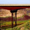 Perrine Bridge With Snake River Canyon ID