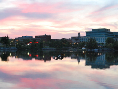 Peteborough  Skyline  Sunset