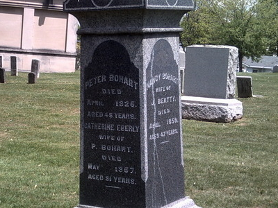 Peter  Bohart Tomb   2 8 Carrollton  2 C  Ohio  2 9