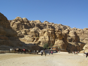 Dana to Petra 3 Day Trek