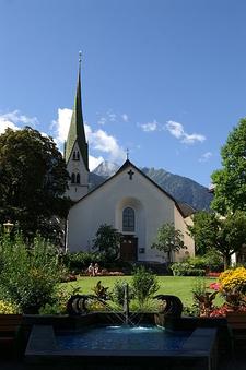 Pfarrkirche Mayrhofen Austria