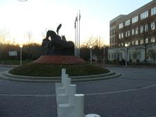 The Three Horse Statue