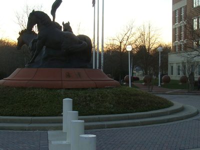 The Three Horse Statue