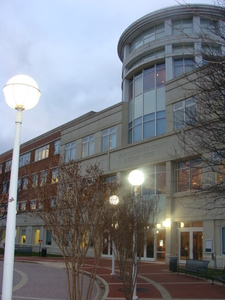 The Main Entrance To The Prince George\'s County Courthouse
