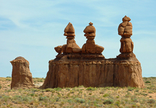 Phallic Looking Formation In Goblin Valley