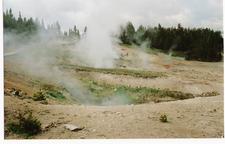 Phantom Fumarole - Yellowstone - USA