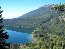 Phelps Lake Loop At Grand Tetons - Wyoming - USA