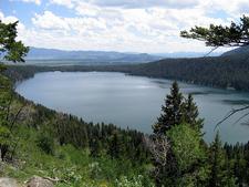 Phelps Lake Overlook Trail - Grand Tetons - Wyoming - USA