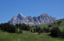 Phelps Lake Trail - Grand Tetons - Wyoming - USA