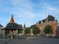 Main Square In Philippeville
