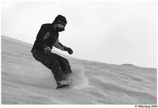 Phillips Canyon Snowboarding - Grand Tetons - Wyoming - USA